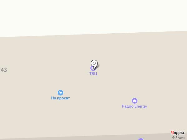 Радио Хит-ФМ на карте Ессентуков