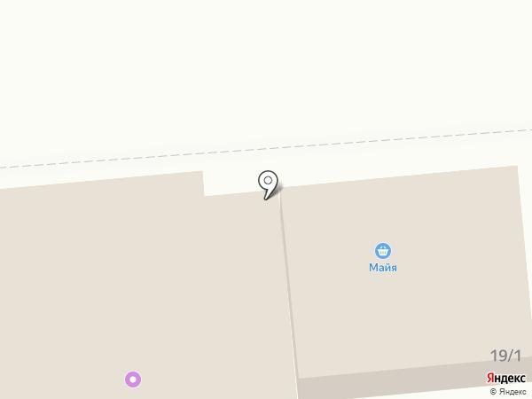 Майя на карте Лермонтова