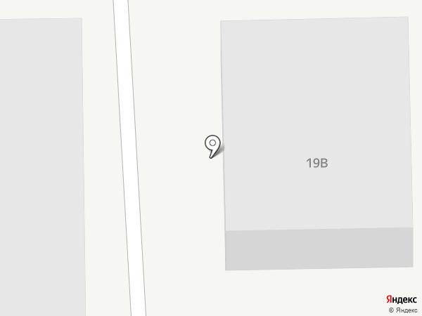 Бора-мебель на карте Пятигорска