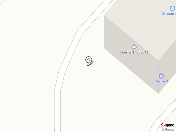 Ёлочка на карте Лермонтова