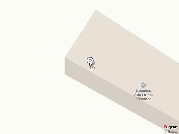 Храм Архангела Михаила на карте Винсад