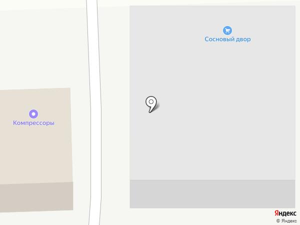 Иртори на карте Пятигорска