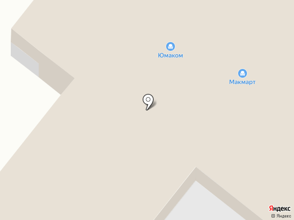 ЮМАКОМ-ЮГ на карте Винсад