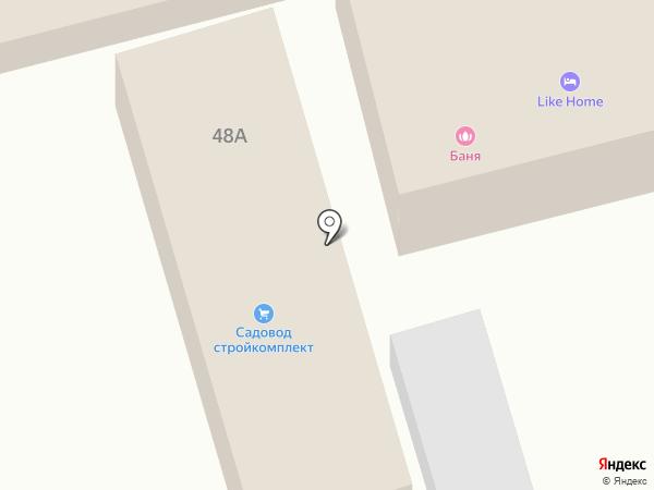 С лёгким паром на карте Винсад