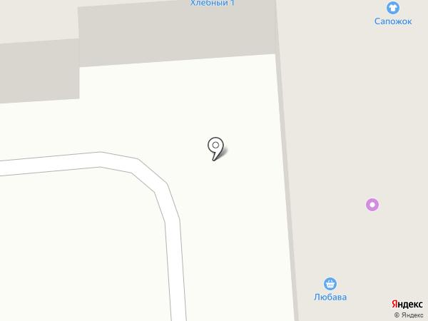 Любава на карте Лермонтова