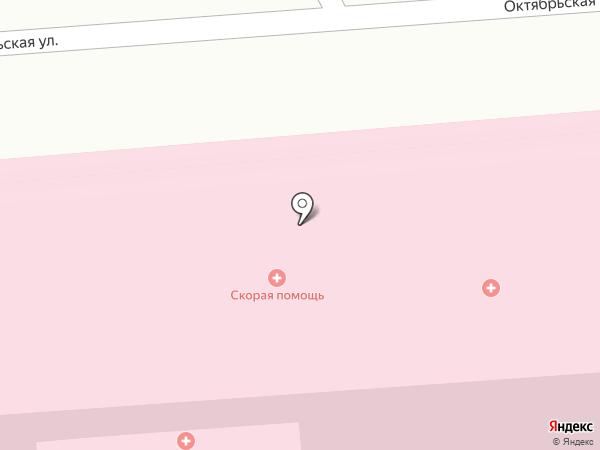 Станция скорой медицинской помощи на карте Лермонтова