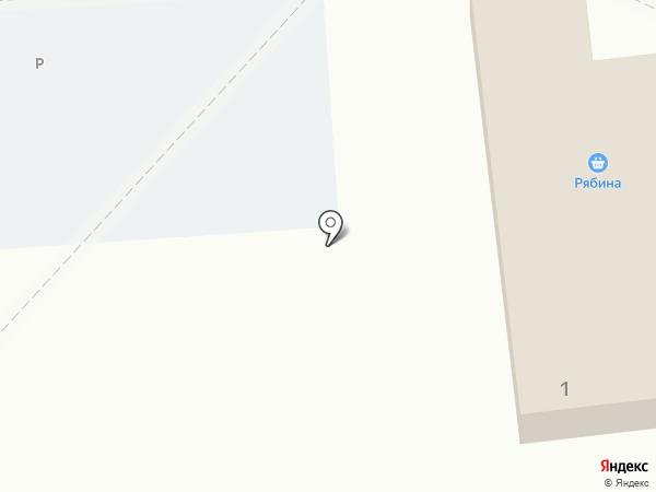 Рябина на карте Лермонтова