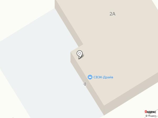ABS на карте Винсад