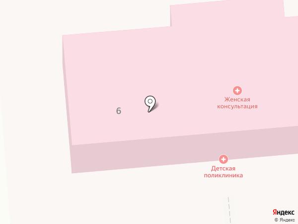 Женская консультация на карте Лермонтова