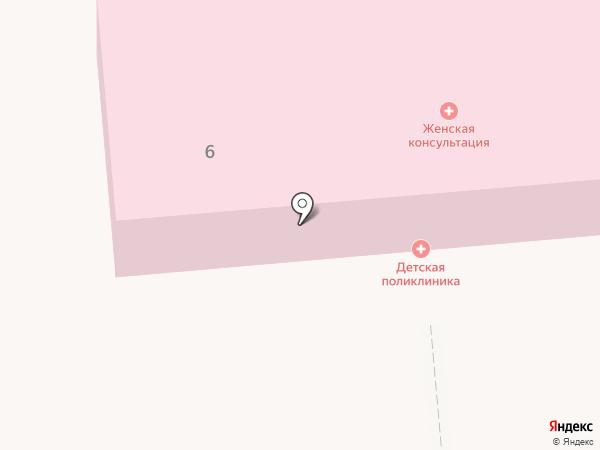 Детская поликлиника на карте Лермонтова