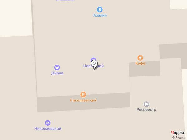 Магазин одежды на карте Лермонтова