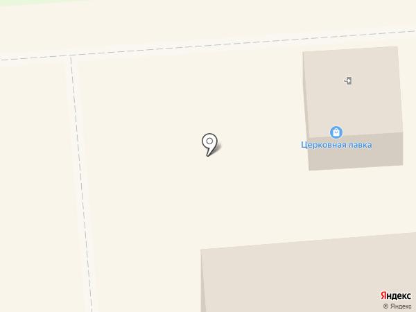 Церковная лавка, Храм преподобного Сергия Радонежского на карте Лермонтова