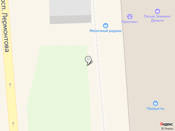 Агентство недвижимости на карте Лермонтова