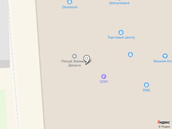 Проспект на карте Лермонтова