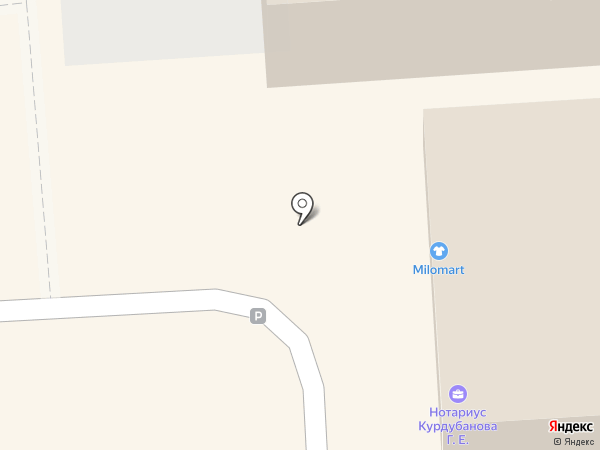 Магазин одежды и обуви на карте Лермонтова