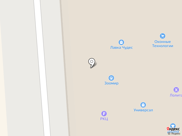 Лавка Чудес на карте Лермонтова