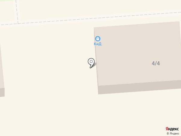 КиД на карте Лермонтова