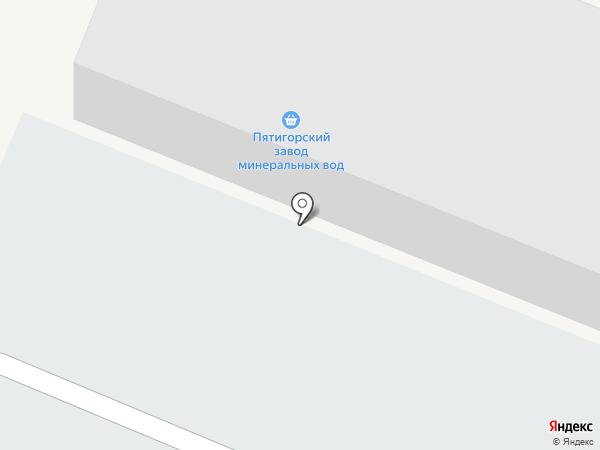 ПолиСтавЮг на карте Пятигорска