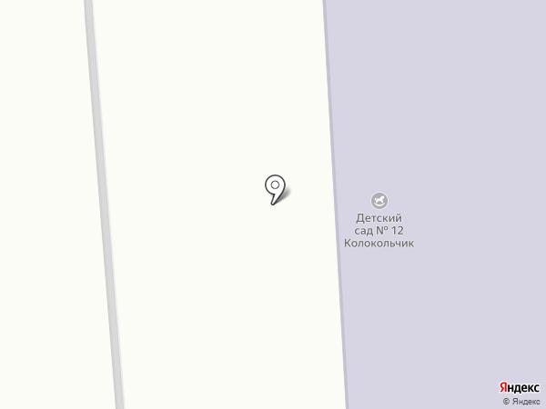 Детский сад №12 на карте Лермонтова