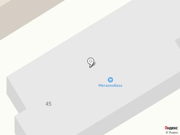 ЮФО-ОПТТОРГ на карте Пятигорска