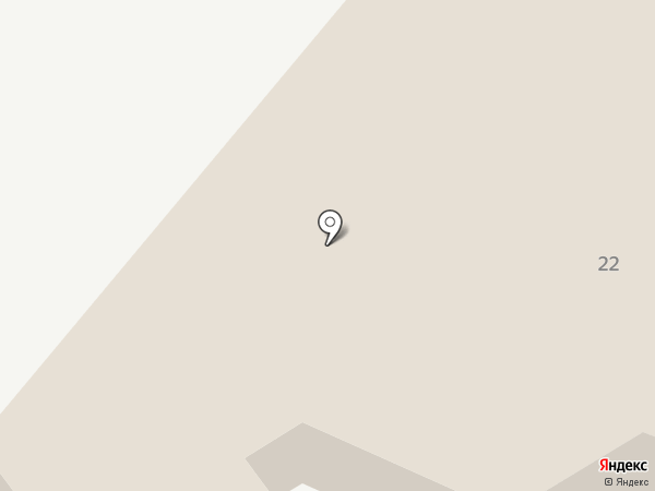 Милих на карте Винсад