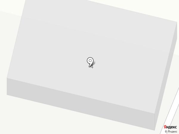 Еврокомплект на карте Винсад