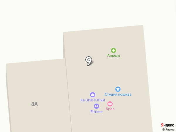 FitTime на карте Лермонтова