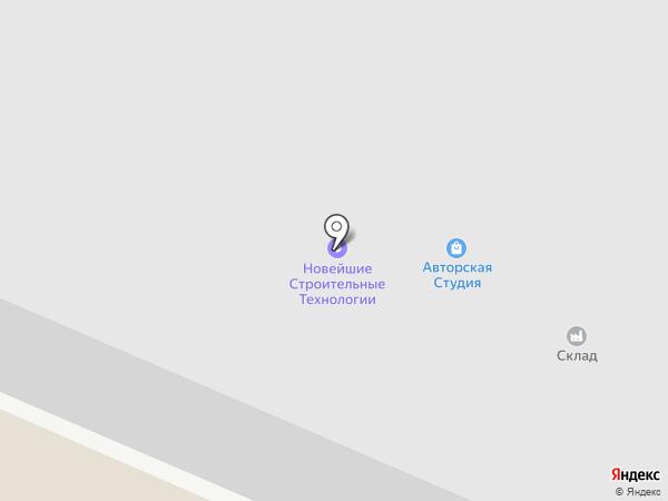 Промышленник-КМВ на карте Пятигорска