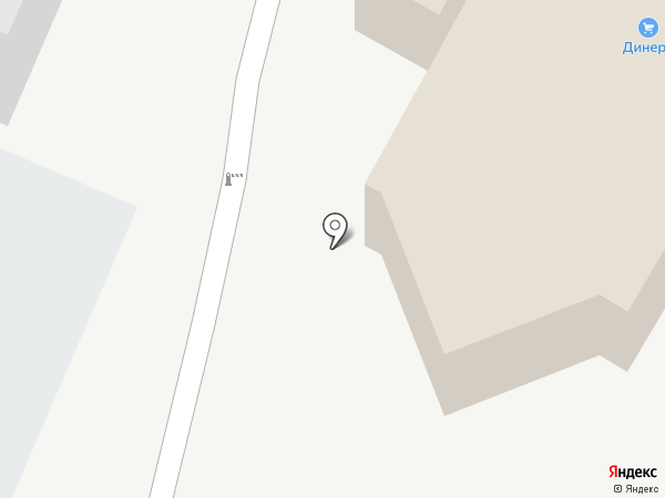Дом обоев на карте Пятигорска