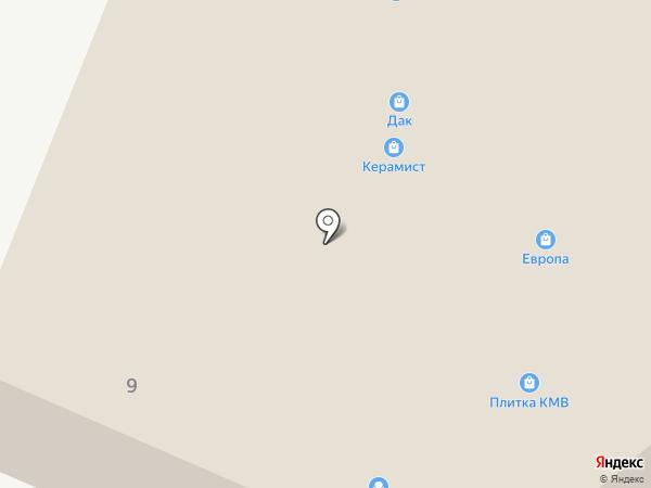 Relotti на карте Пятигорска