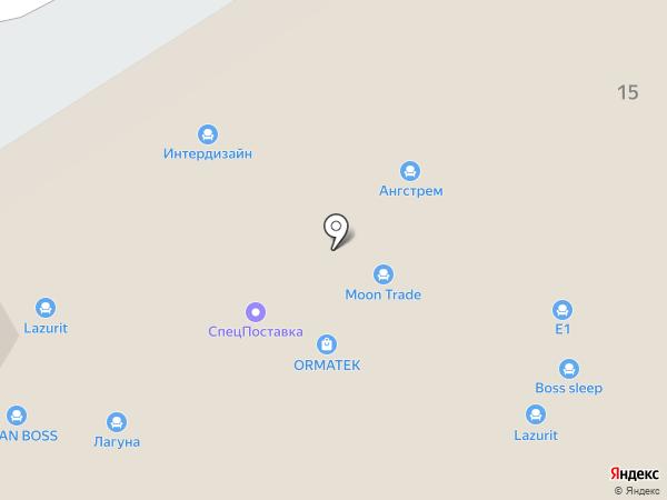 Шатура на карте Пятигорска