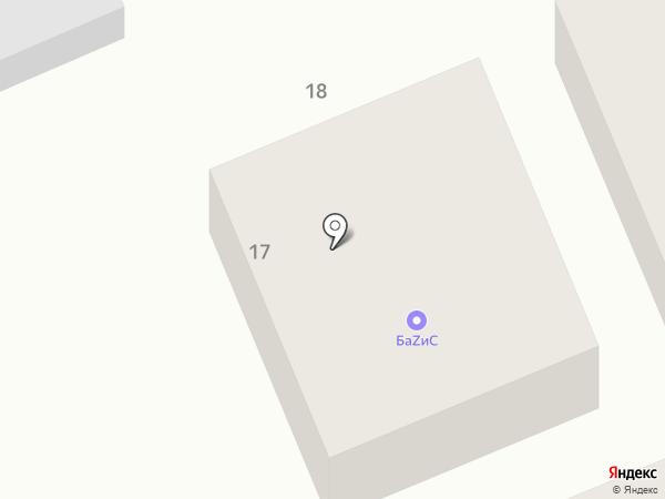 Артель Строй на карте Пятигорска