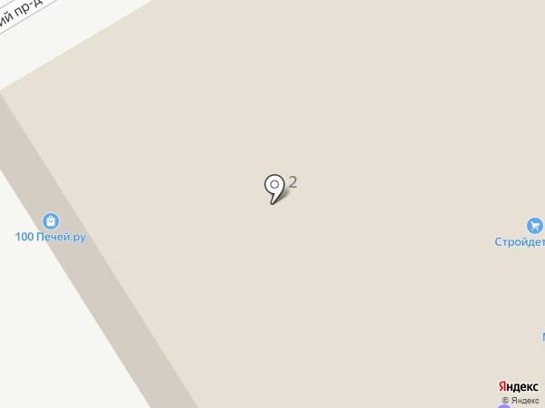 ТехноЮг на карте Пятигорска