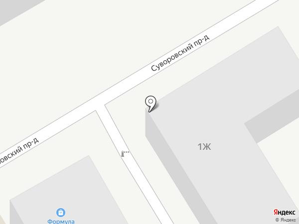 Магазин дверной фурнитуры на карте Пятигорска