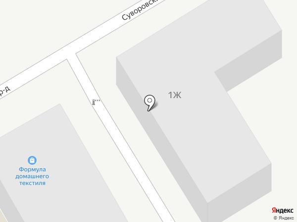 Дверная фурнитура на карте Пятигорска