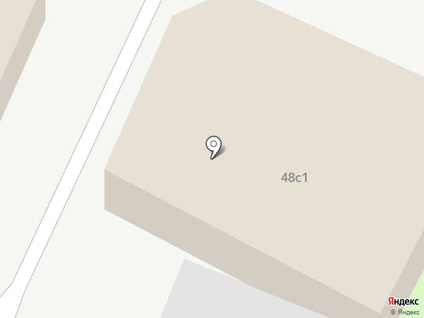 Альфа на карте Пятигорска