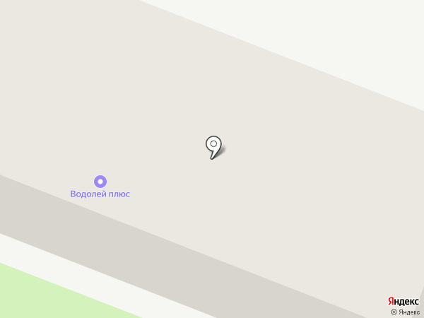 Водолей плюс на карте Пятигорска