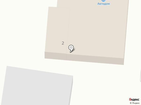 Автодом на карте Железноводска