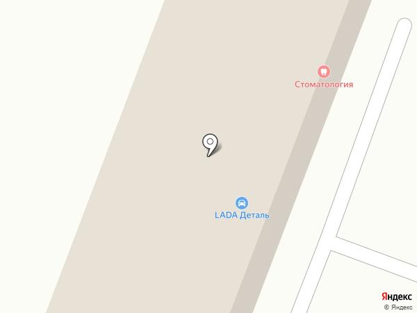Магазин автозапчастей для автомобилей ГАЗ, ВАЗ, УАЗ на карте Пятигорска