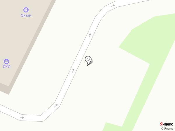 АЗС Октан на карте Пятигорска