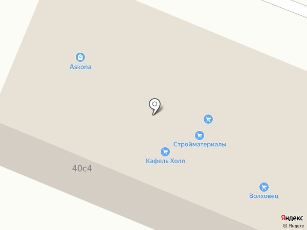 Центр пол на карте Пятигорска