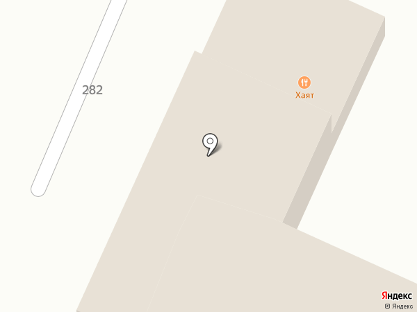 СПА Отель Хаят на карте Пятигорска