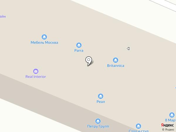 Lazurit на карте Пятигорска