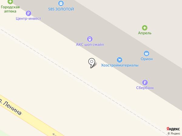 585 на карте Железноводска