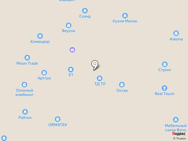 Лувр на карте Пятигорска