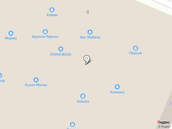РАЙАН на карте Пятигорска