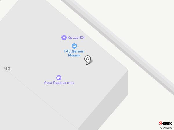 Кератон-Ростов на карте Пятигорска