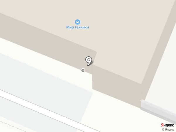 КИА-центр-Пятигорск на карте Пятигорска