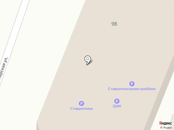 Магнит на карте Пятигорска