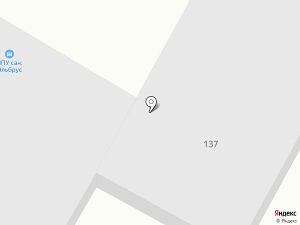 Автостоянка на карте Железноводска